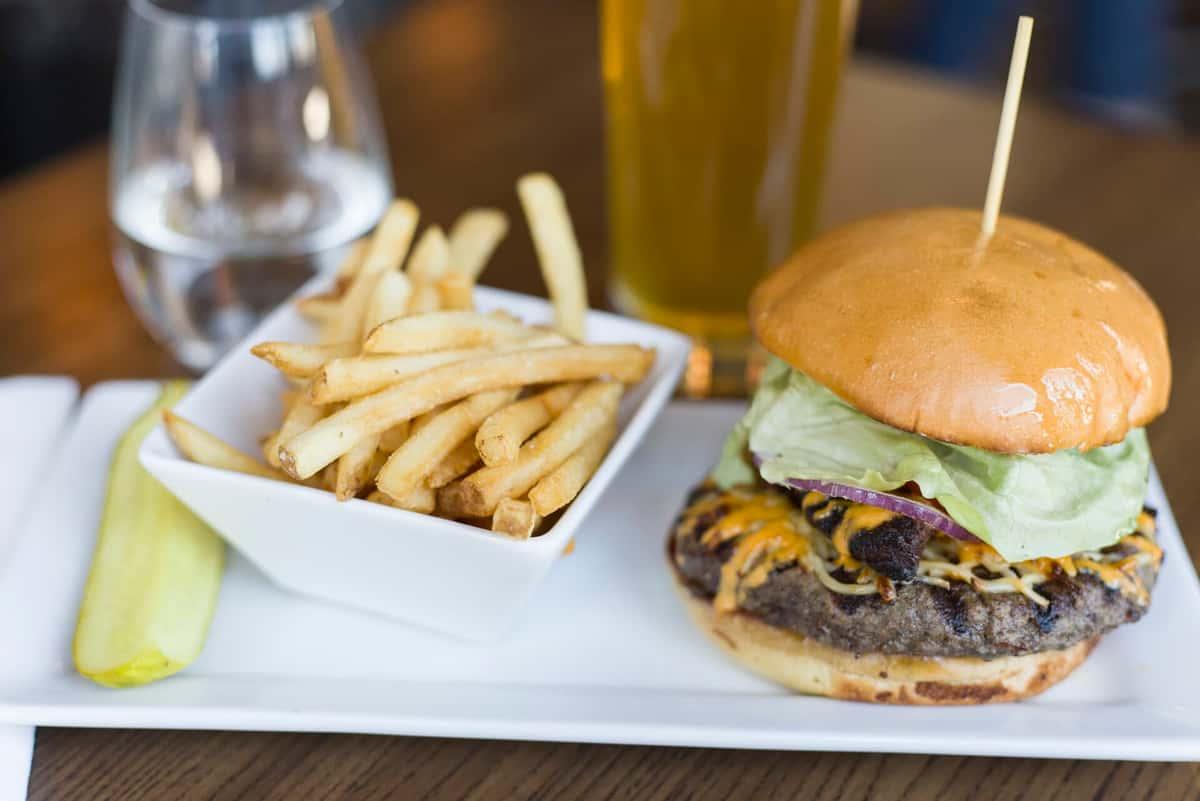 Liberty Bacon Cheese Burger