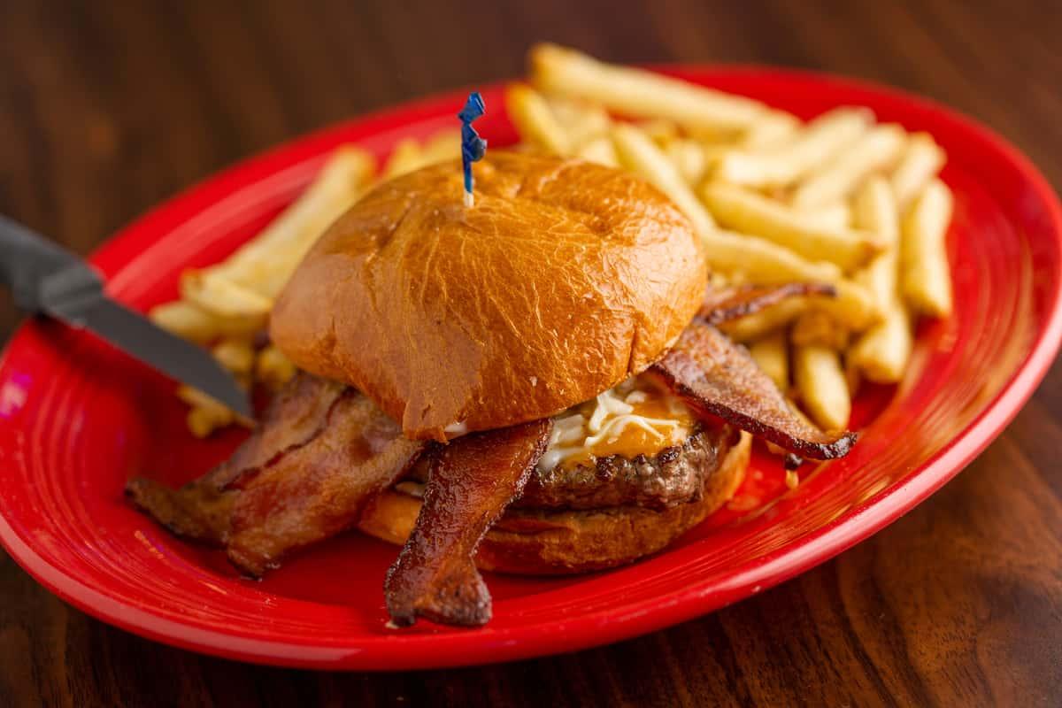 Chuck's Bacon Burger