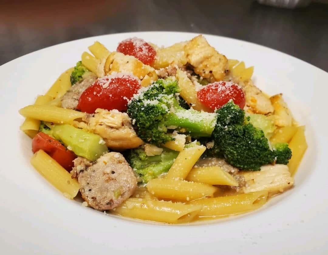 Chicken Broccoli & Sausage