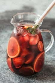 Red, White, lemon Lime, Blackberry or Spring (Fruity white flavored Sangria) Sangria 32 ounce (no ice)