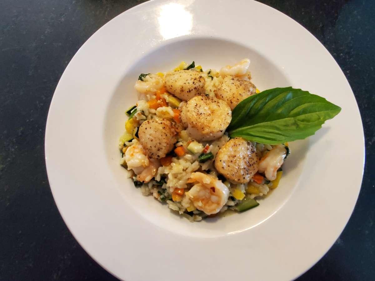 Shrimp & Scallop Risotto