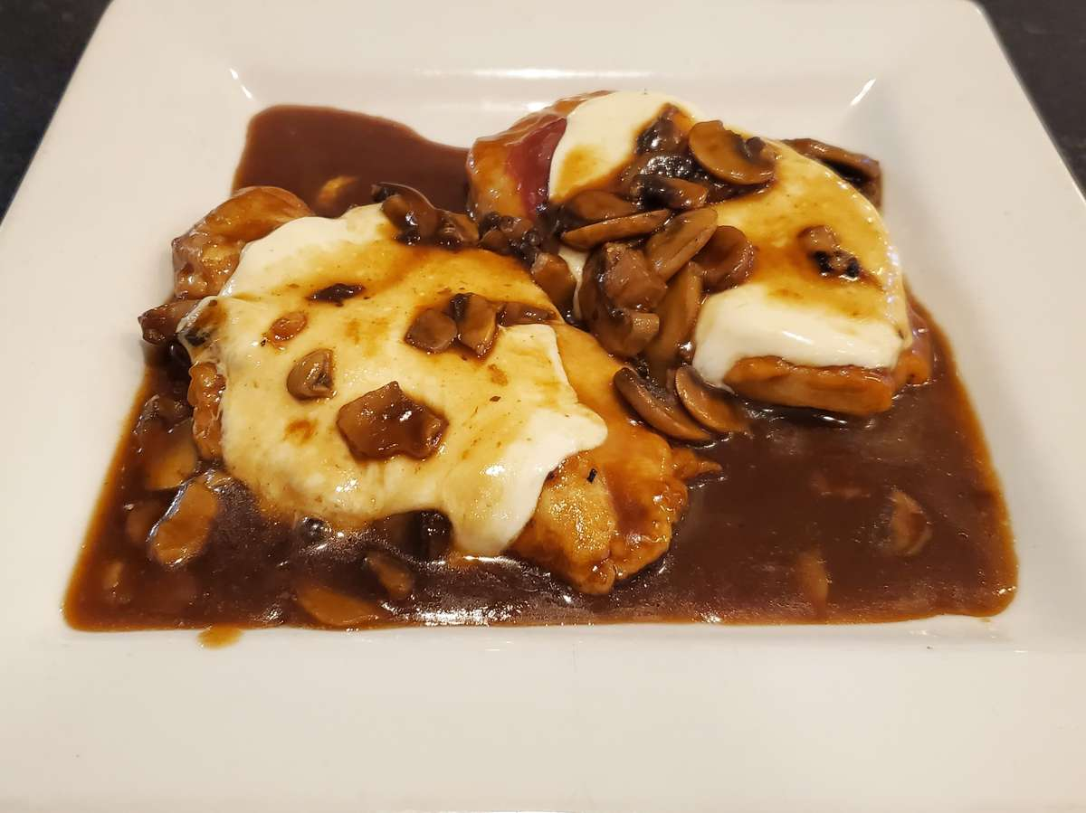 Chicken or Veal Saltimbocca