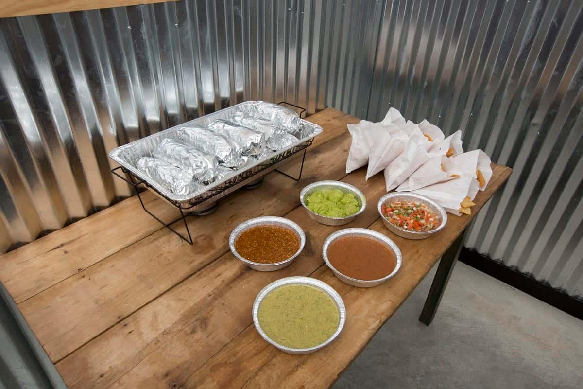Burrito Platter