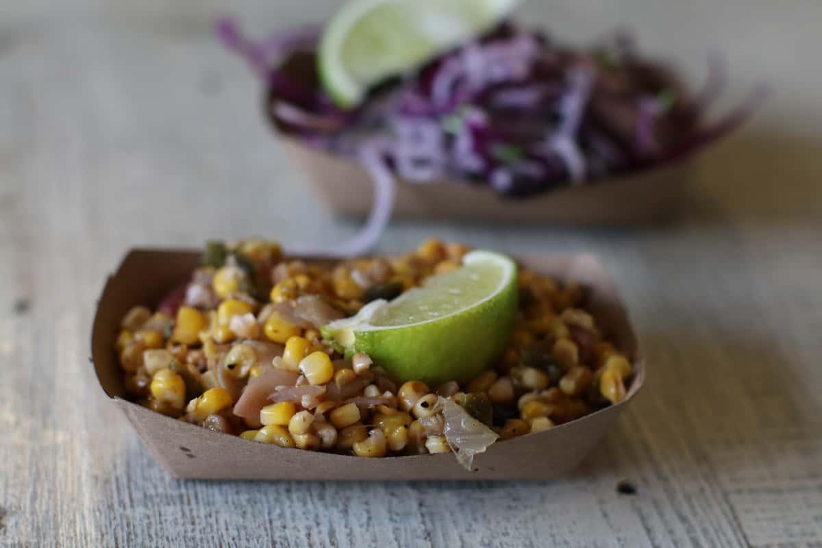 Corn & Rajas Salad (Side)