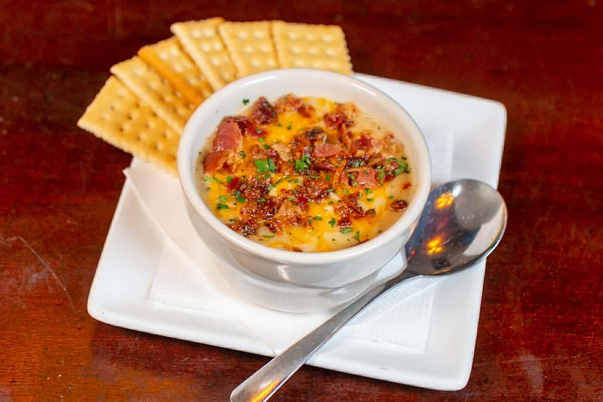 Liam's Garlic Potato Soup