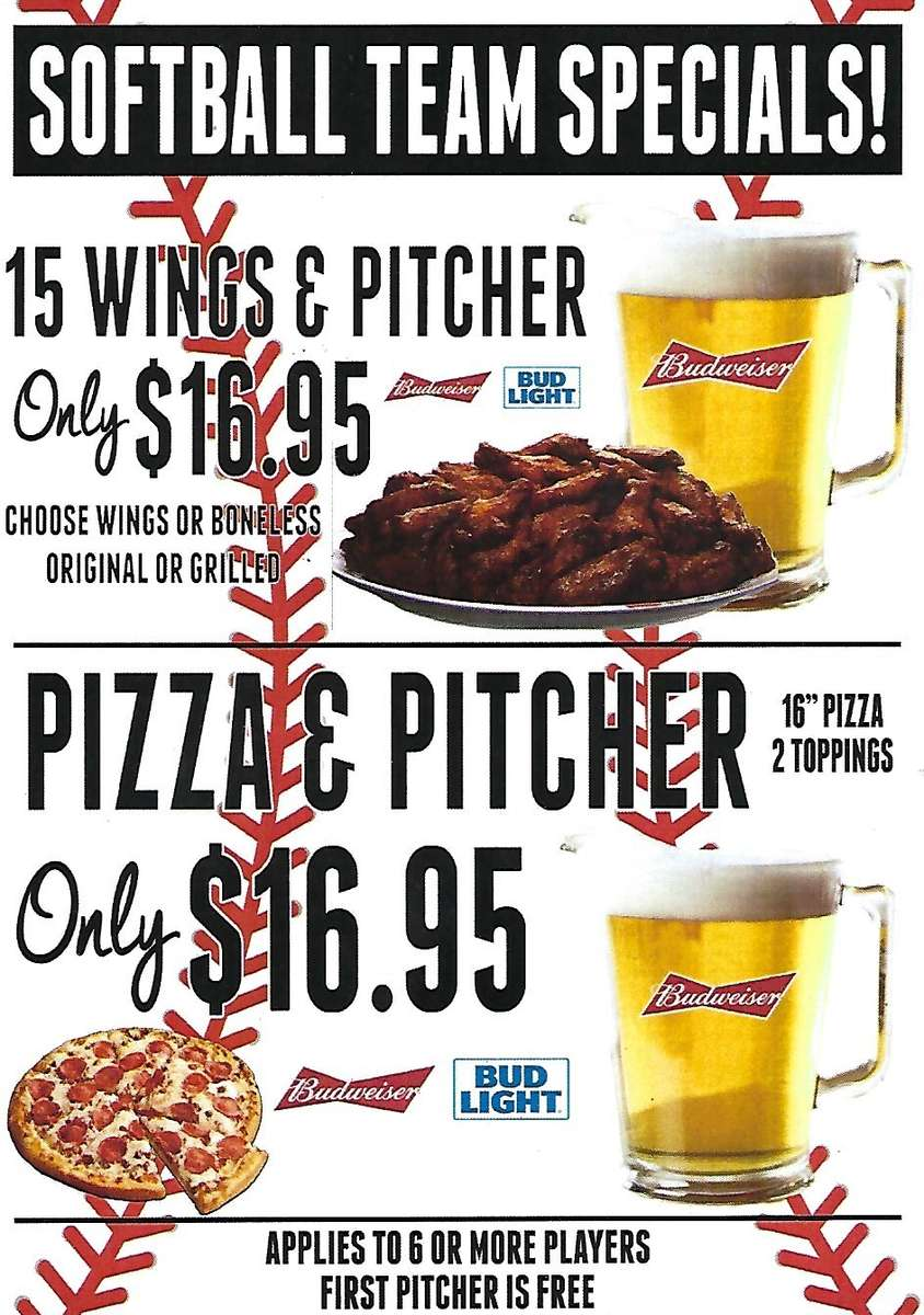 15 Wings & a Pitcher