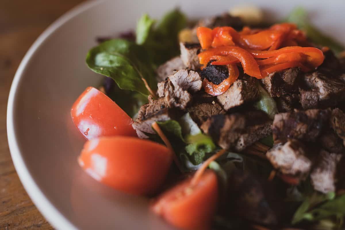 Texas Club Steak Salad