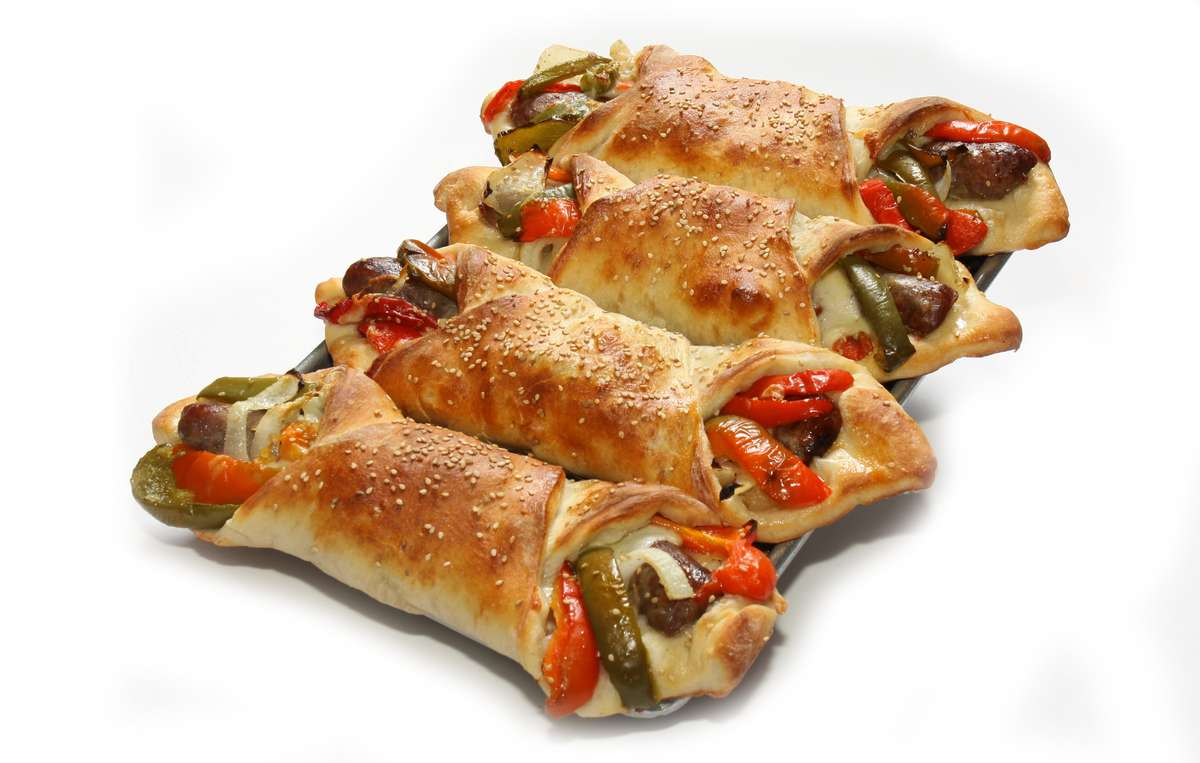 Sausage & Pepper Roll