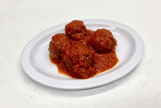 Side Of Mom's Homemade Meatballs