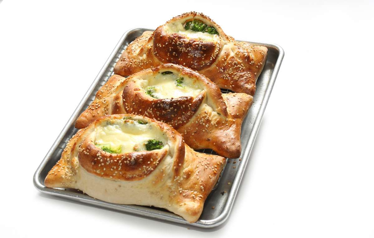 Vegetable Stuffed Calzone