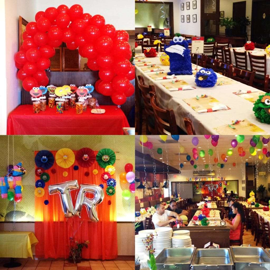 variety of birthday parties
