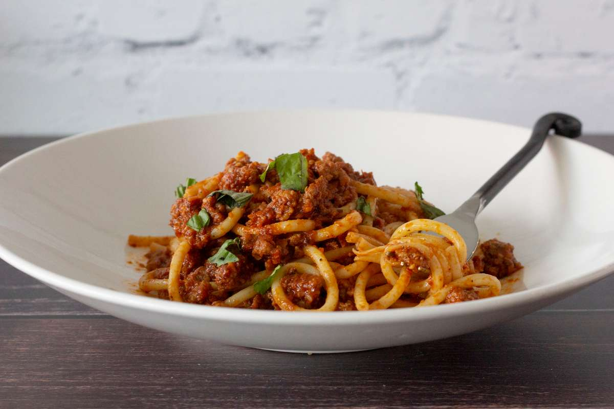 Monday (ONLY) - Impossible Bolognese