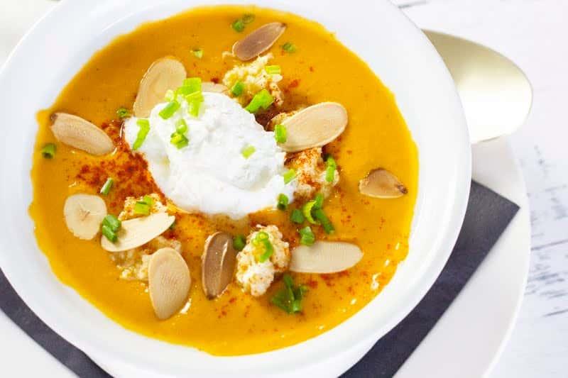 Pumpkin Crab Bisque