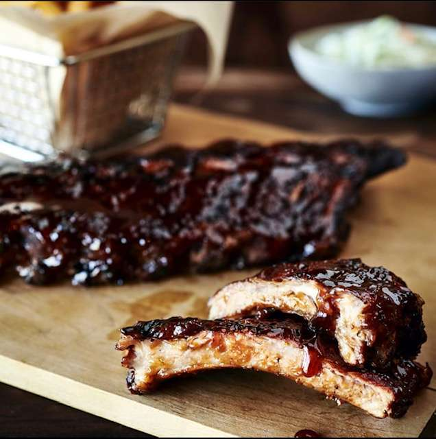 Dr. Pepper Ribs (full rack)