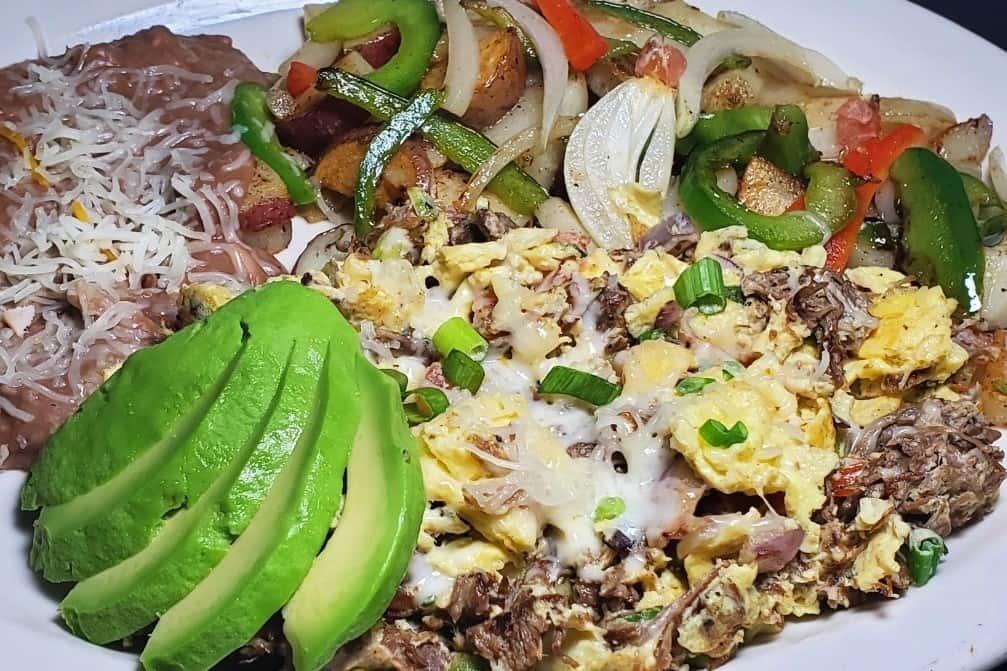 Machaca & Eggs