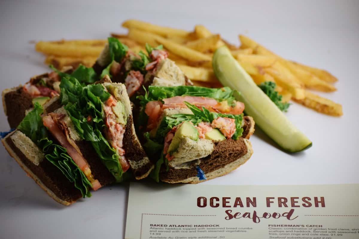 Lobster Avocado Club