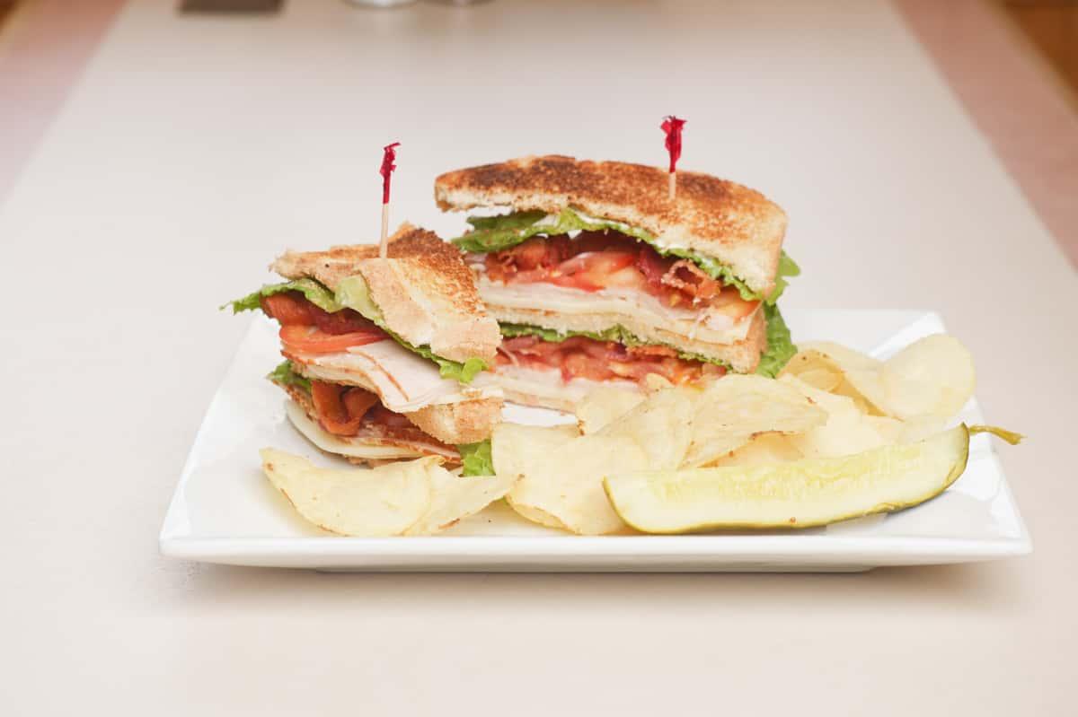 Turkey Club with Bacon