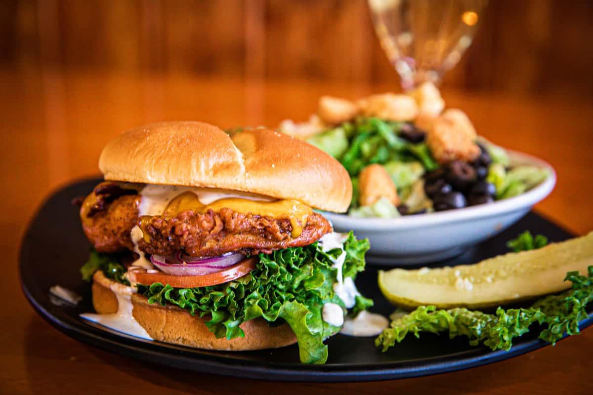 Ranchers Chicken Burger