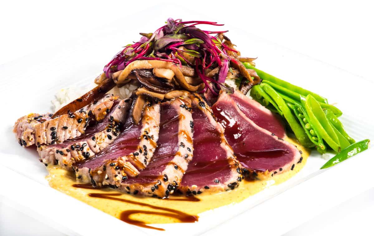 Crusted Seared Ahi Tuna
