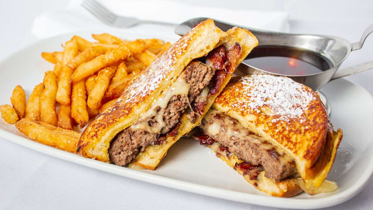 The French Toast Burger