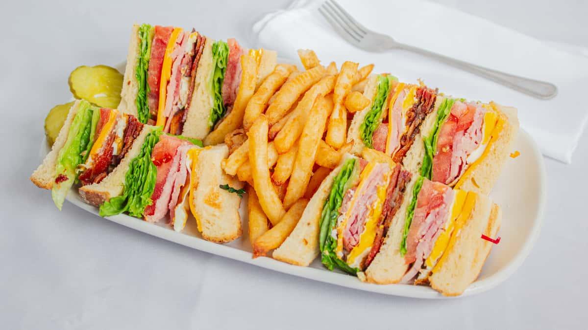 Foodys Club Sandwich