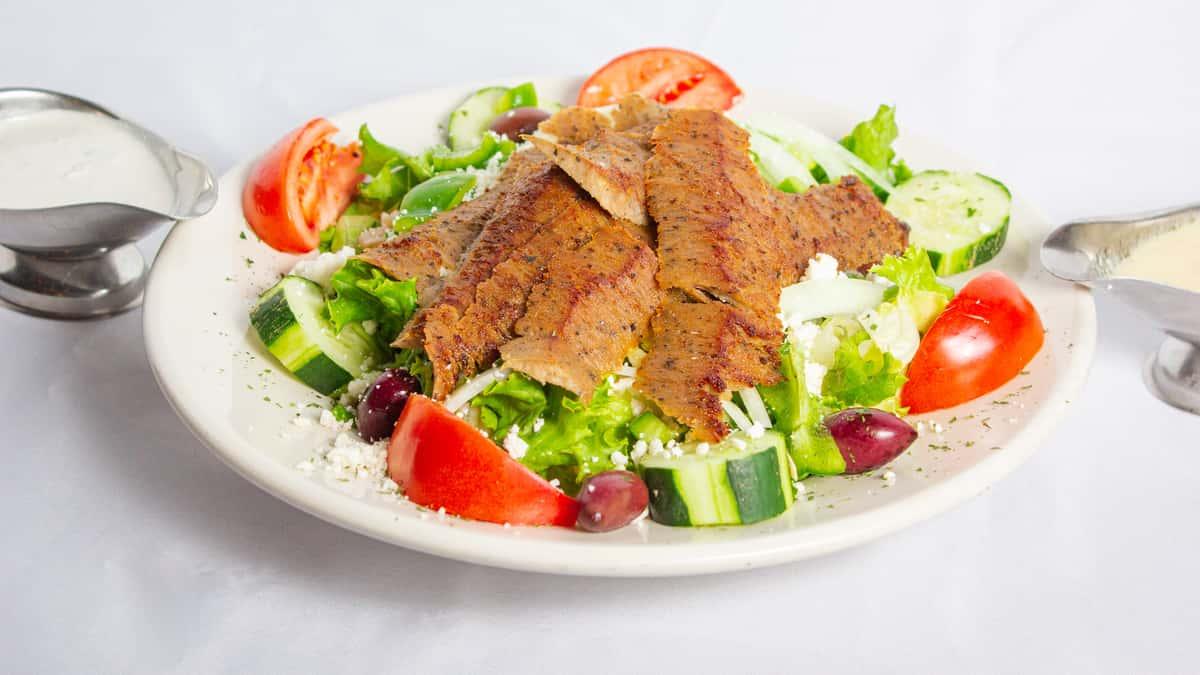 Huge Gyro Salad