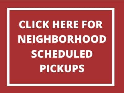neighborhood pickups