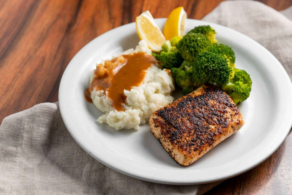 Broiled or Blackened Salmon