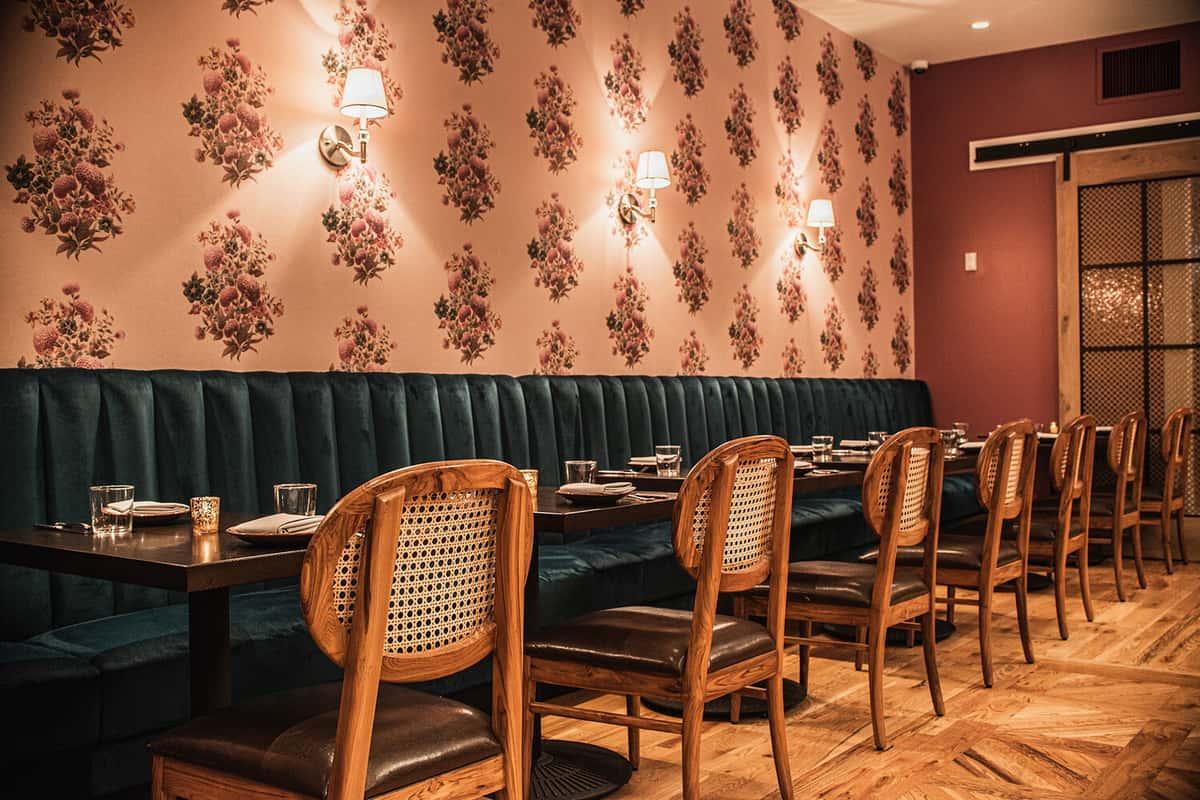 Guldasta dining room