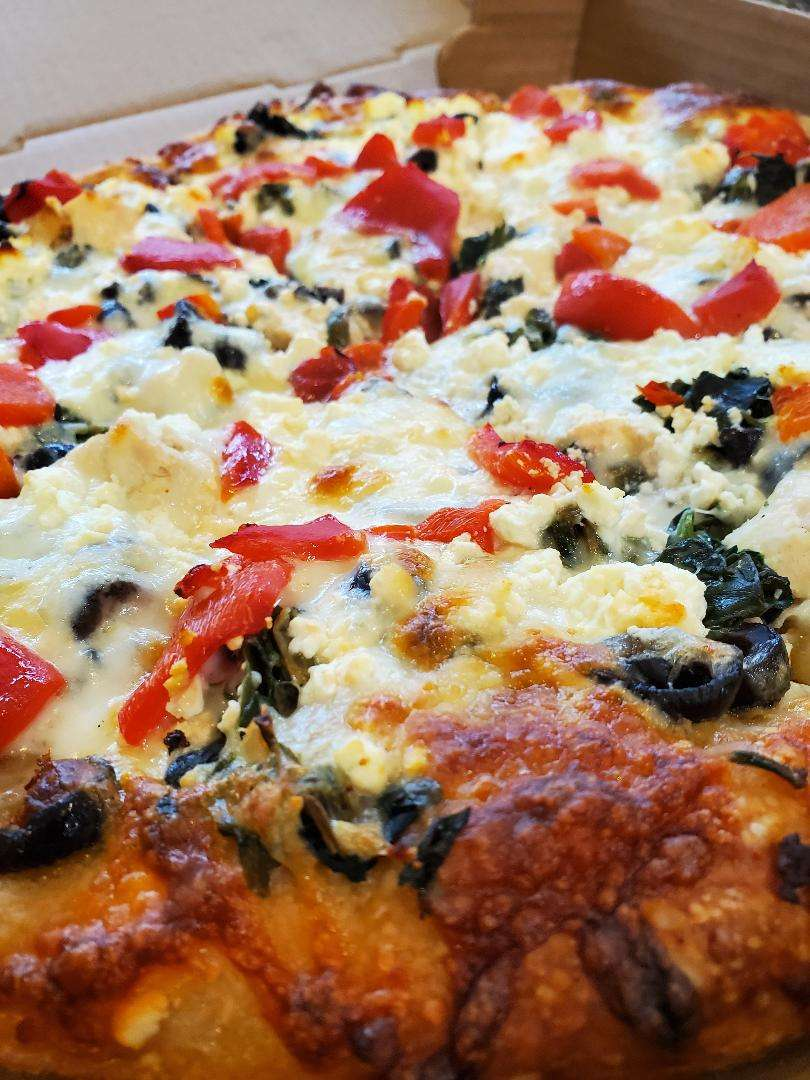 Dr. X's Greek Pizza