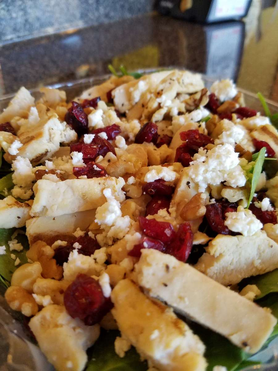 Cranberry Walnut Salad