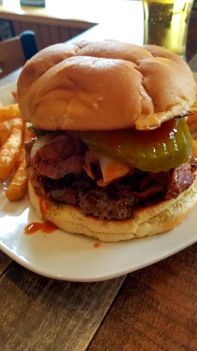 The BIG Mouth Burger