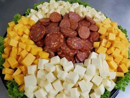 Cheese & Pepperoni Platter