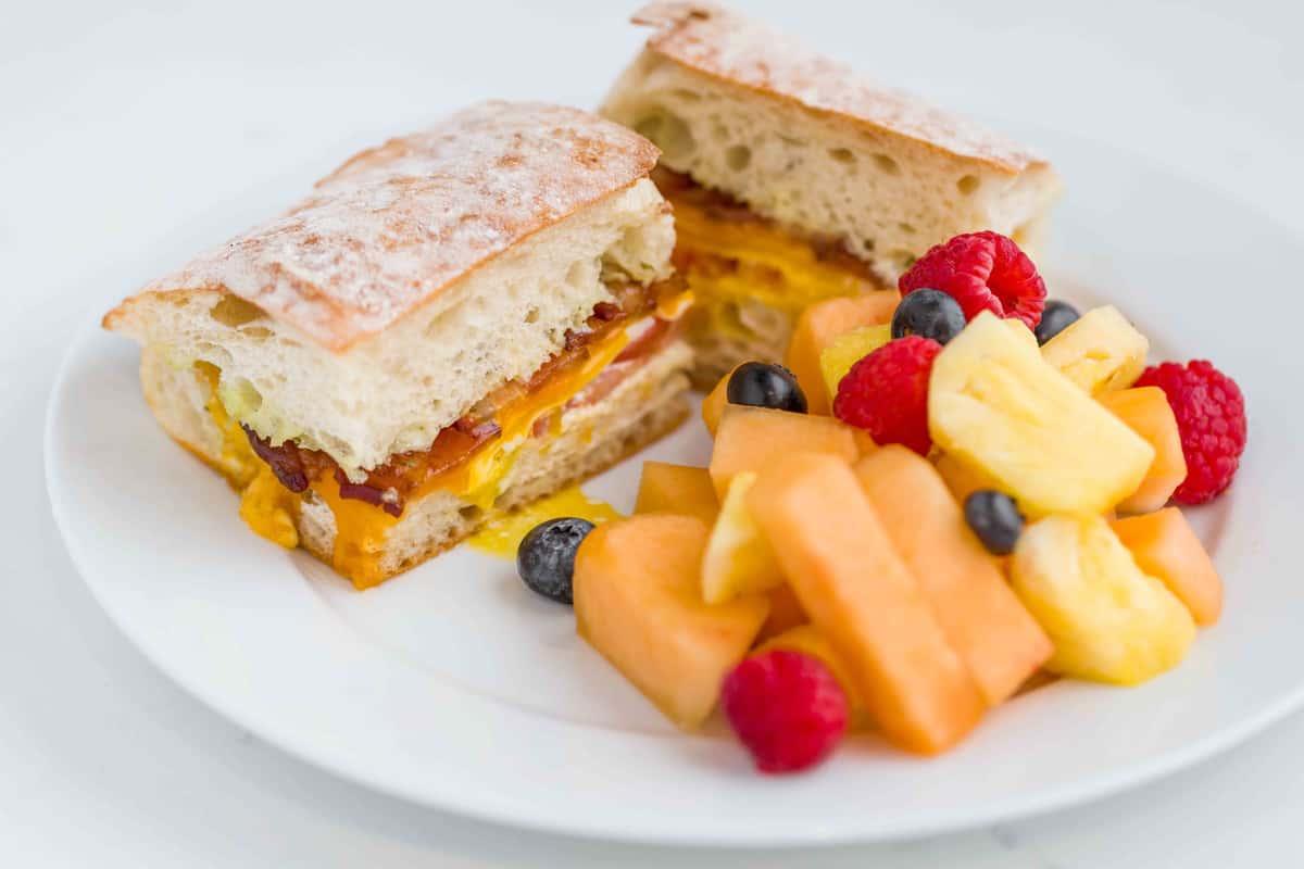 Market Club Breakfast Sandwich