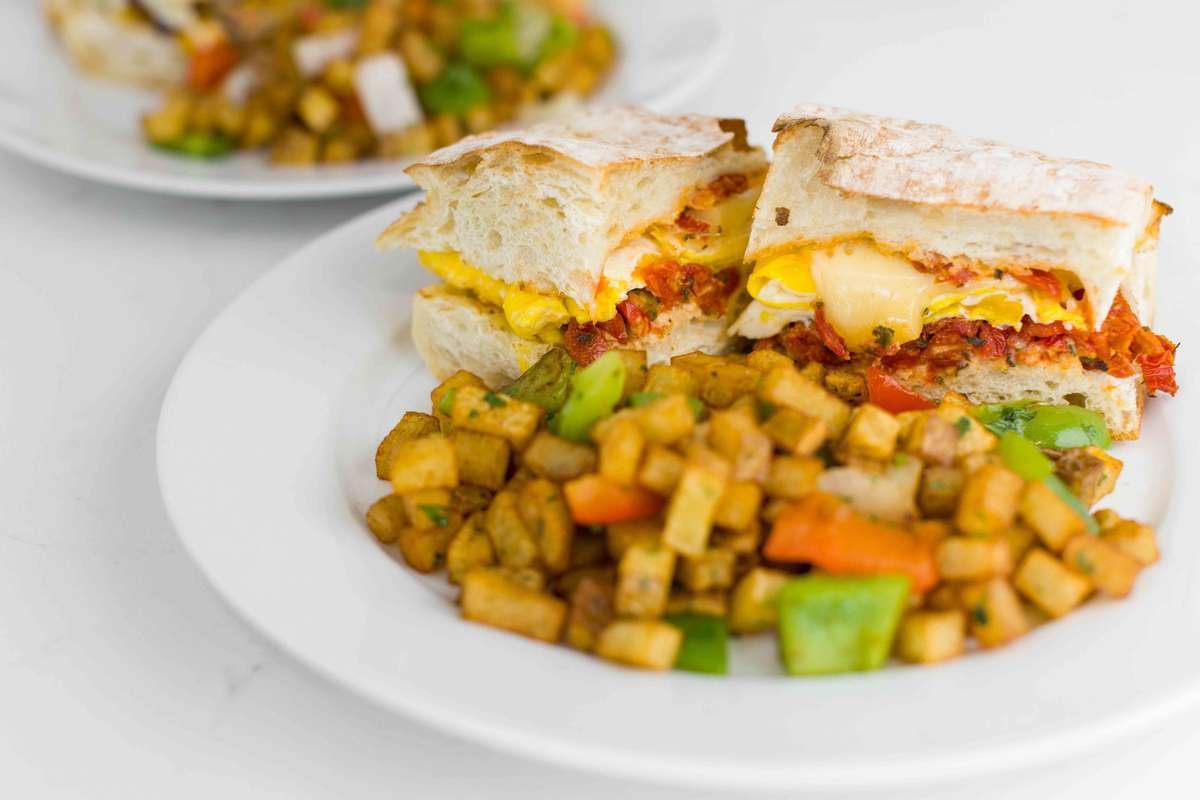 Fontina Breakfast Sandwich