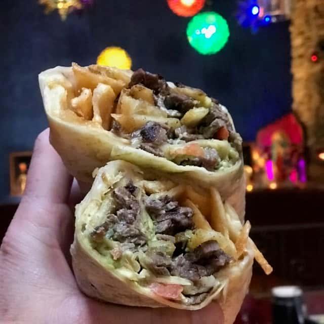 California Ave Burrito