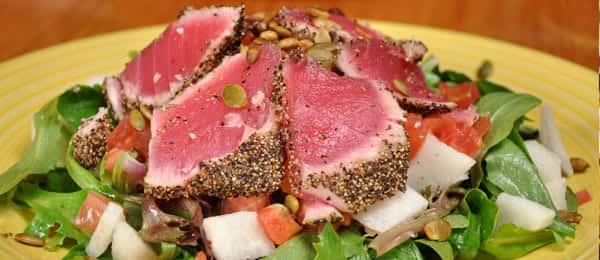 *Ahi Tuna Salad