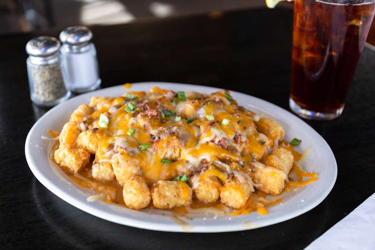 Porky Fries or Tots