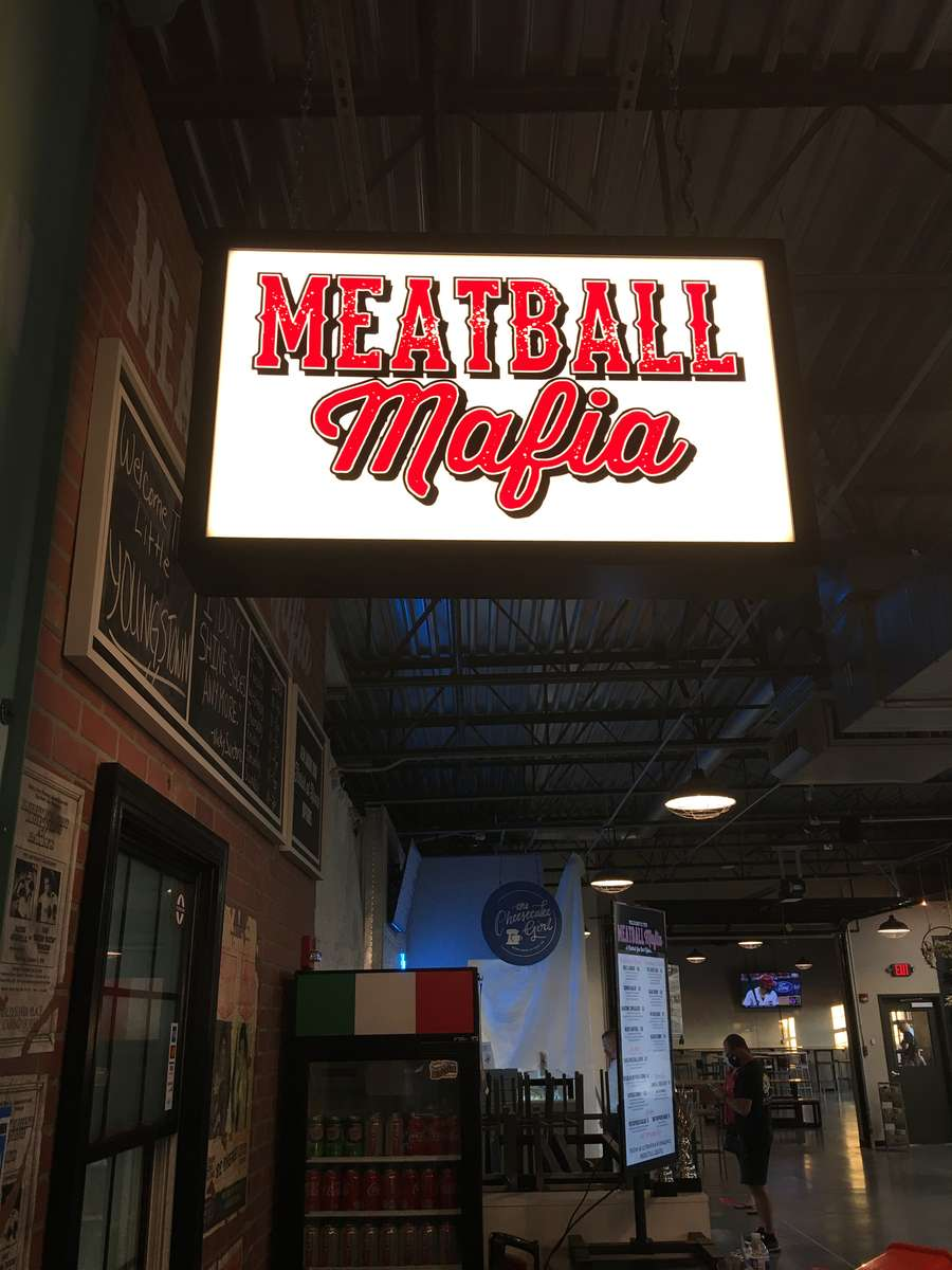Meatball Mafia Sign