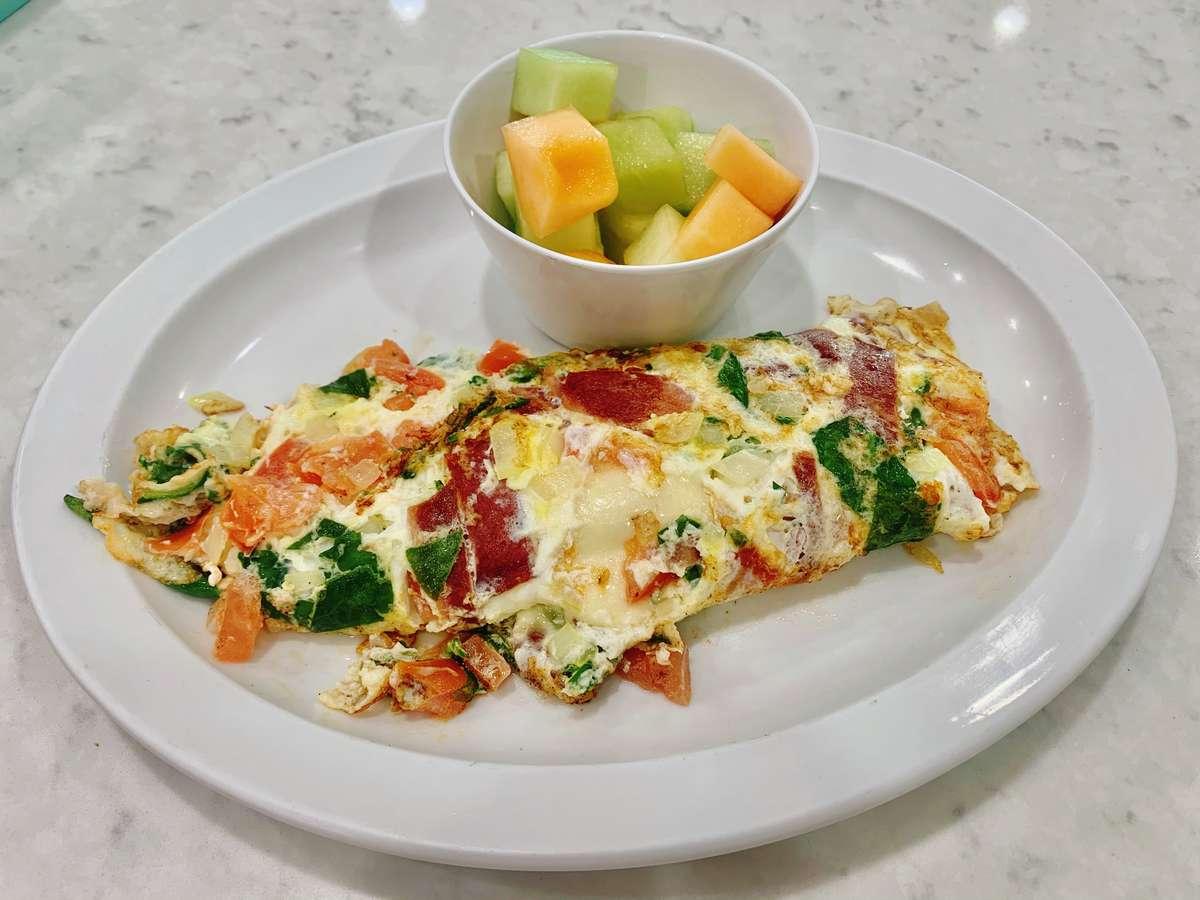 Primavera Egg-White Omelet