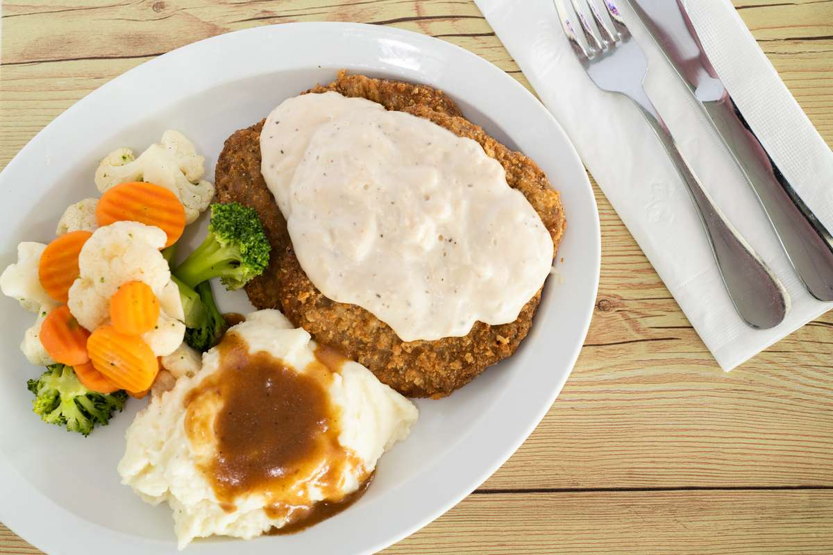 *Country Fried Steak