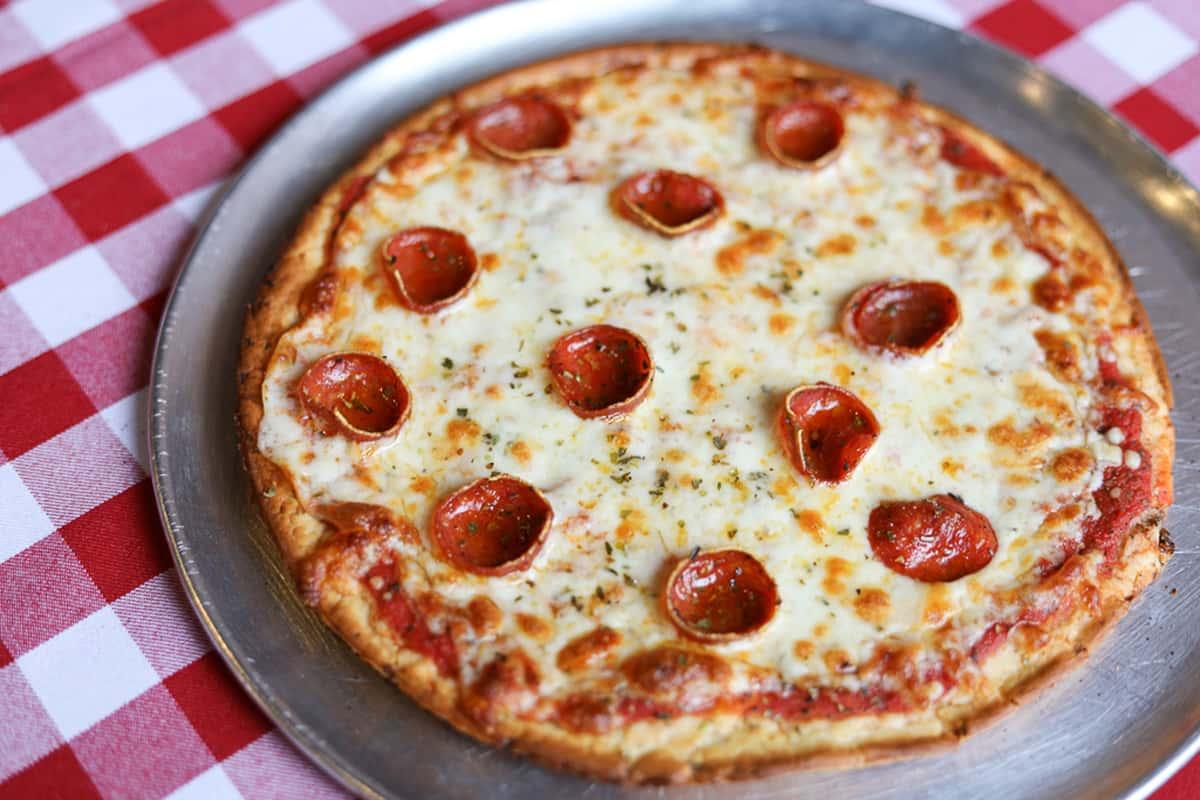 10 Inch Cauliflower Crust Pizza