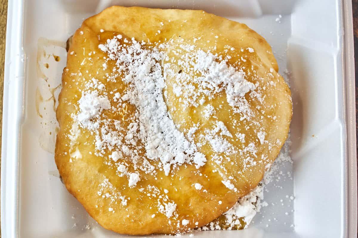 Honey & Powdered Sugar Fry Bread