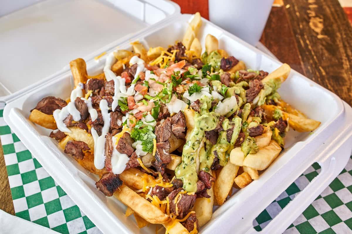 carne asada loaded fries