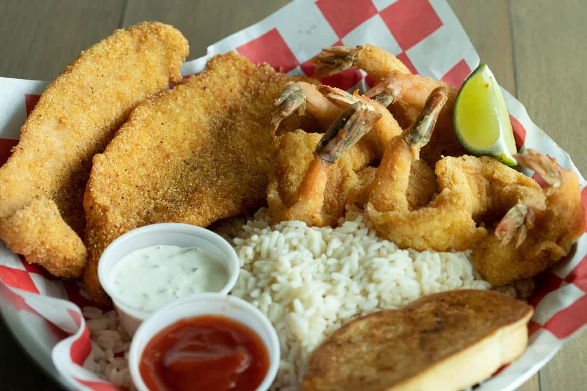 2 Fish & 9 Shrimp