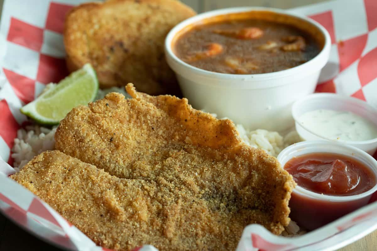Fried Fish & Étouffée