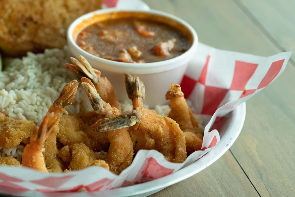 Shrimp & Étouffée