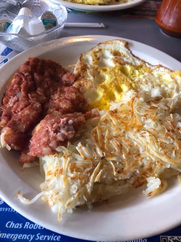 2 Eggs & Corn Beef Hash