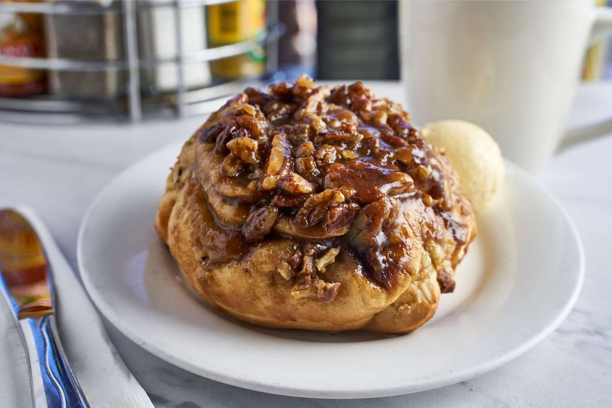 Homemade Pecan Roll