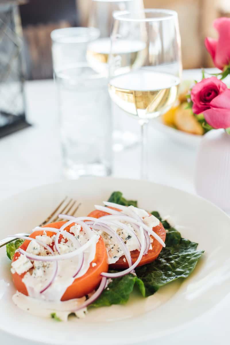 Tomato & Gorgonzola Salad